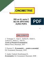 Econometrie C1 REI