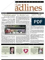 The Lee Headlines, Issue 3