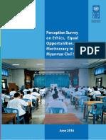 UNDP MM Perception Survey English