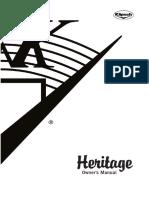Heritage Manual 2005