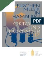 Kirchenmusik in HH Oktober November 2017