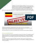 Almanya Vize Reddi