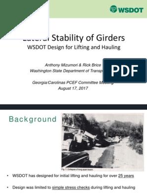 Girder Stability Mizumori | Strength Of Materials | Beam