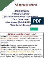 RUSSU Cancer Corp Uterin 2016