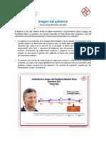 Imagen de Macri y la gestión   Diciembre 2017