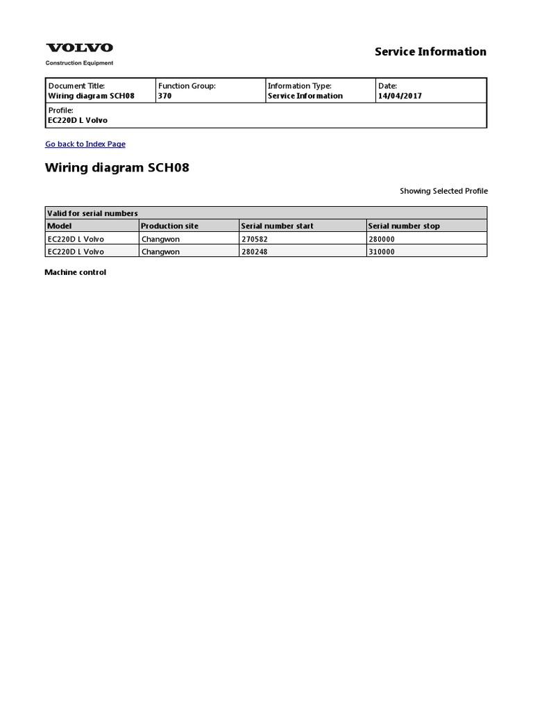 Wiring Diagram Sch08  Service Information