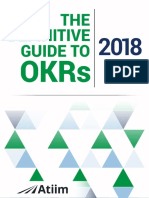 The Ultimate Guide to OKRs