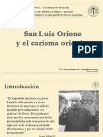 Don Orione y Su Carisma en La Argentina