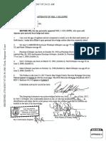 Appendix 6 Affidavit of Neil J. Gillespie HECM Age Limits