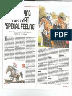 Racing Ahead Magazine - Harry Fry Feature