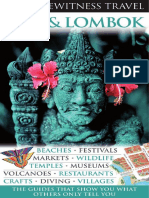 Bali and Lombok DK Eyewitness Travel Guides