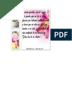 Poema Para El Dia de La Madre Tarea 4 a Cesar Primaria
