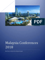 List of Malaysia Conferences 2018