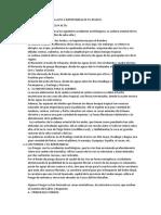 Morfologia de La Selva Alta e Importancia de Su Relieve