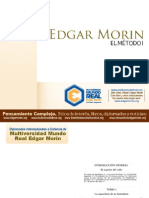 Edgar Morin - El Metodo I