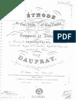 Dauprat, Meethode de Cor-Alto Et Cor-basse (2nd Part)