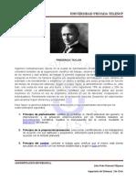 PRINCIPIOS DE LA ADMINISTRACIÓN DE TAYLOR.... JD..doc