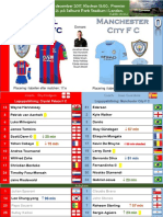 Premier League 171231 round 21 Crystal Palace - Manchester City 0-0
