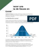 Campana de Gauss