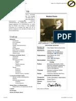Bibliografia Corta Rubén Darío
