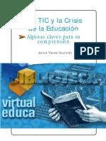 Las Tic Y La Crisis de La Educacion - Yanes Guzman Jaime
