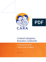 CARA Logo Guidelines 2015