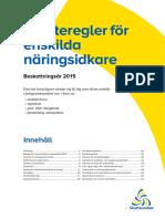 Skatteregler for Enskilda Naringsidkare Skv295 Utgava20