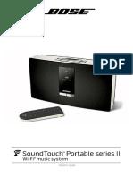 BOSE SoundTouch Portable Serie II Weiss Bedienungsanleitung 2cf989