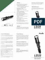 LightFlash Fenix Ld20 User Manual
