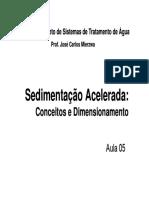 Cálculos_Sedimentação Acelerada