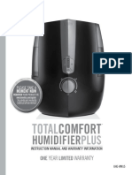 Homedics Humidifier Manual