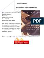 New Organic Architecture the Breaking Wave David Pearson 78482585