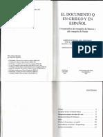 El Documento Q 1a Parte (Kloppenborg)
