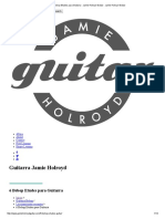 6 Bebop Etudes Para Guitarra - Jamie Holroyd Guitar - Jamie Holroyd Guitar