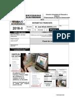 Trabajo Matematica Financiera Administracion y Negocios internacionales