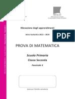 Invalsi Matematica 2013-2014 Primaria Seconda