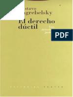 El Derecho dúctil. Gustav Zagrebelzky.pdf