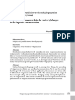 Hadzlik-Dudka - Wulgaryzmy a Przeklanstwa