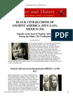 RaceandHistory African Presence in America Before 1500