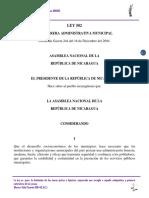 Muuy Bueno Ley 502 Ley de Carrera Administrativa Municipal