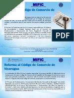 Inicia Consultoría Para Reforma de Código de Comercio de Nicaragua