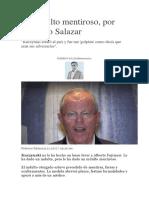 Un Indulto Mentiroso y falso a Alberto Fujimori abuso de constitución mal hecha en Perú