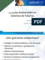 3.9 Estudios Ambientales en Sistemas de Tuberías - SL