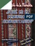 Julieta Paredes, Adriana Guzmán - El tejido de la Rebeldía. Qué es el feminismo comunitario.pdf