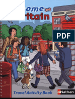 Welcome to Britain Travel Activity Book