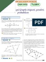 Chingatome-Terminale ES Spé-Graphe Étiqueté, Pondéré, Probabiliste