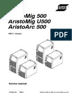 Esab Mig 500