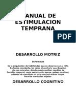 Manual de Estimulacion Temprana(2)