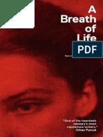 238835971 a Breath of Life Clarice Lispector