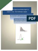 Cours Statistique Mathematique Laoudj Version Finale 19 Janvier 2016